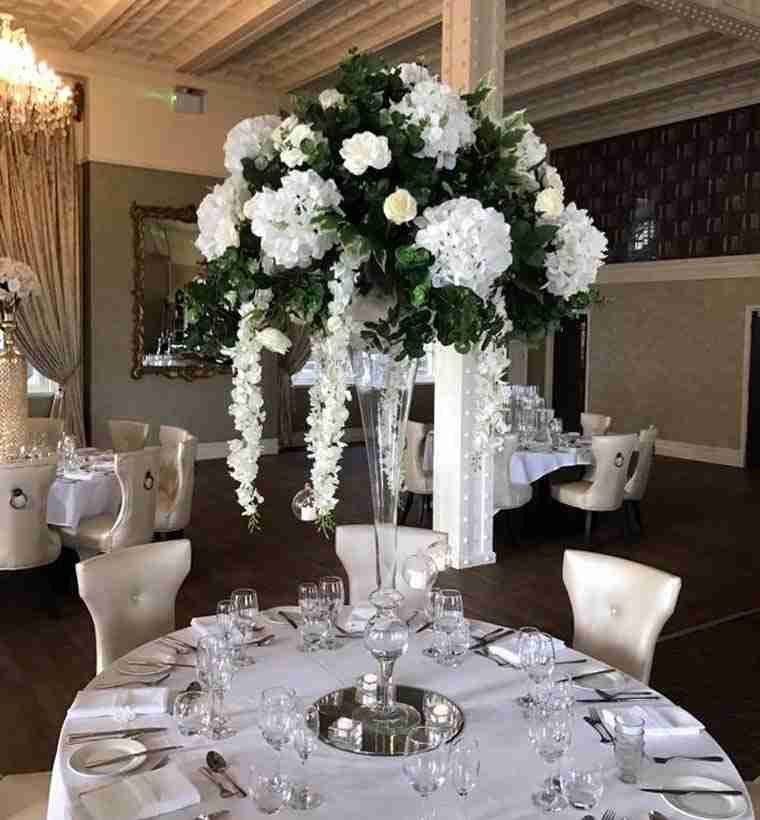 Luxury Table Centrepiece Hire Wirral Liverpool North